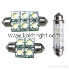 LED Festoon Bulbs Dome Lights Auto Light
