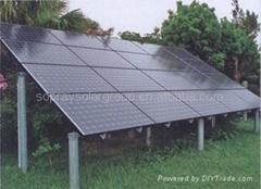 安全性高  使用范围广 防水防腐蚀 高质量太阳能发电系统
