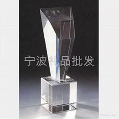 宁波水晶奖杯