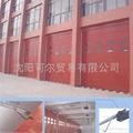 沈阳门业消防遥控车库门。
