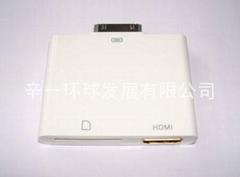 蘋果高清轉接器(HDMI+SD讀卡)