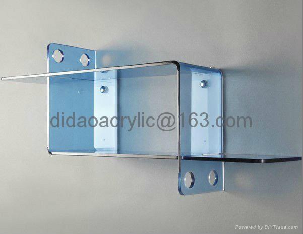 acrylic wall mount shelves 3