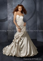 bridal wear, wedding dress