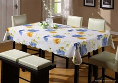 PEVA 台布/PVC桌布/印花桌布