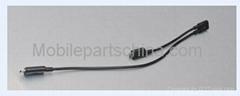 Split data cable for blackberry 9900