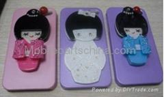 For iphone 4/4s hard case Japanese girl