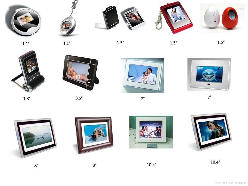 digital photo frames 1 digital photo frames 2 - Electronic Frames