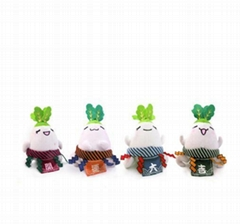 Fruit/Soft/Baby/Radish Doll/Toy - Sumo Radish Doll