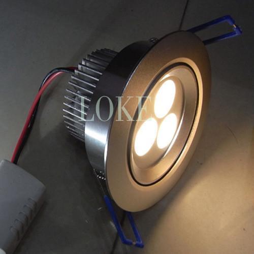 led天花燈3*1w 2