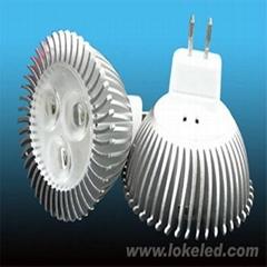 led射燈3*1w