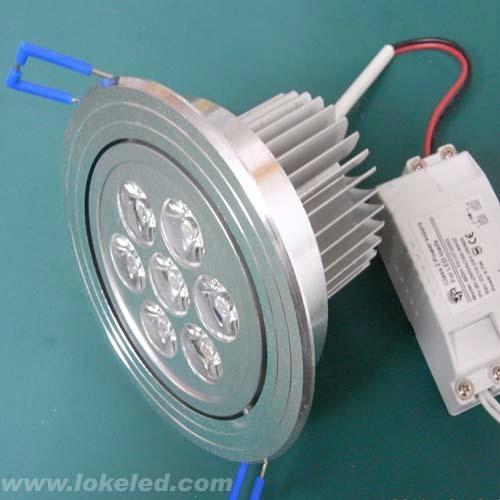 led天花燈7*1w 2