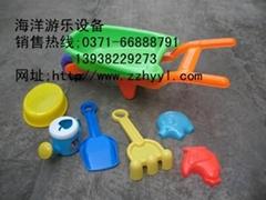 儿童沙滩玩具决明子