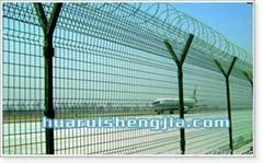 welded panel fence