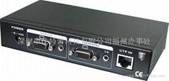 高清VGA雙絞線音視頻接收器