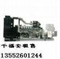 天津出租發電機