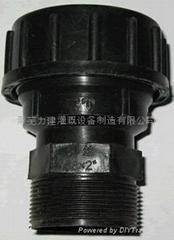 PE管材快速連接管件