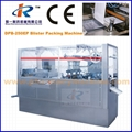 DPB-400P Flat Plate Automatic Blister Packing Machine with Plexiglas Cover