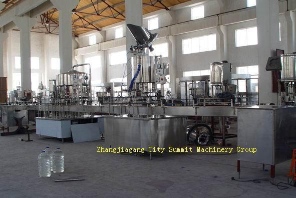 1500-2400 Bottle Per Hour Bottled Water Washing Filling Capping Line  1