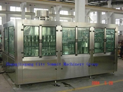 Water Washing Filling Capping Monobloc