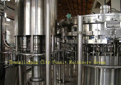 Soft Drink Washing Filling Capping Machine 1