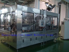 Hot Drink Washing Filling Capping Monobloc Machine