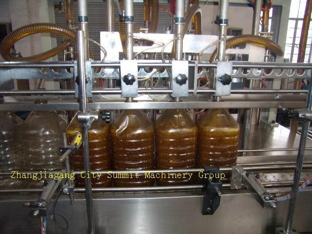 800 Bottle Per Hour Oil Volumetric Filling Machine 1