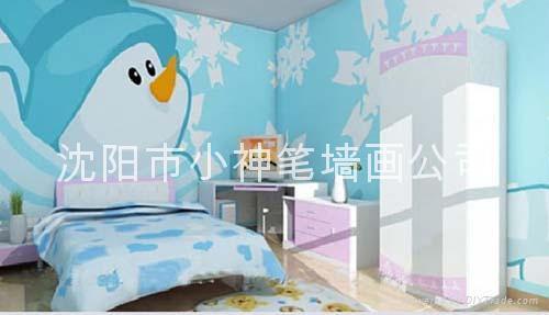幼儿园睡房装修效果图