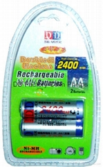 AA/AA/Ni-Mh/Ni-Cd Batteries