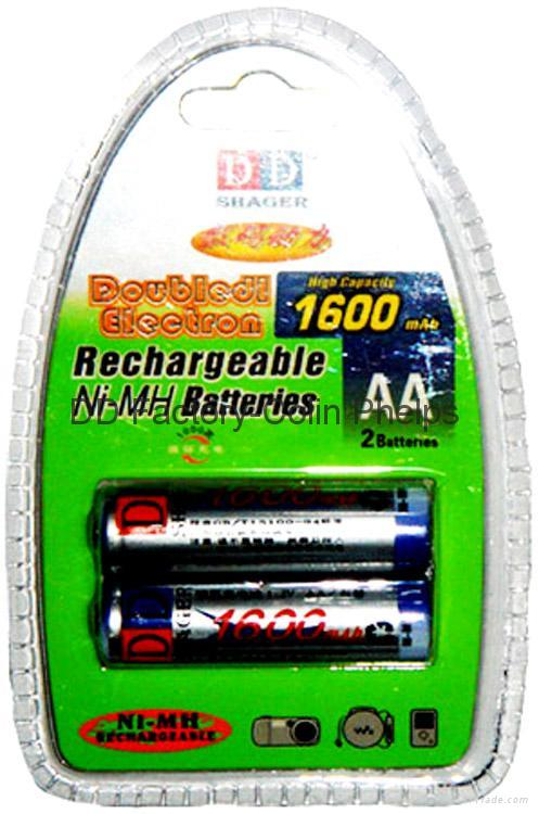 AA/AA/Ni-Mh/Ni-Cd Batteries 2