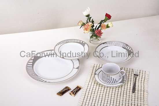 Porcelain dinner ware 4