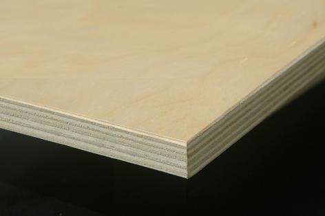 Birch faced plywood