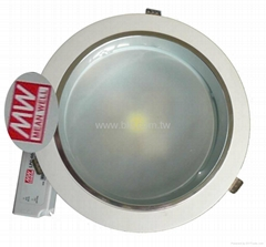35W COB LED Down Light with Mean Well Power Supply