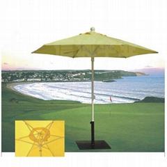 铝合金中柱伞