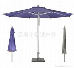 铁骨架中柱伞