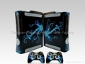 xbox360 skin decal stickers various design print according to customer' s pictur
