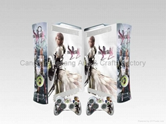 Vinyl xbox360 skin decal stickers various design