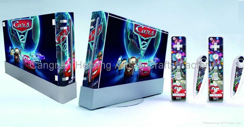wii skin decal stickers 5