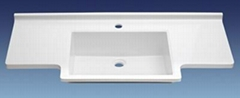 100% acrylic solid cabinet sinks