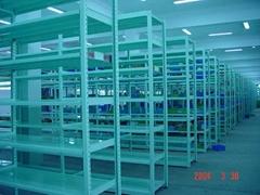 Middle Loads Shelf Rack