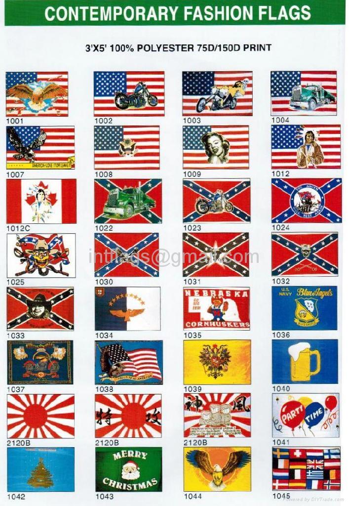 Contemporary fashion flag 1