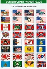 Contemporary fashion flag