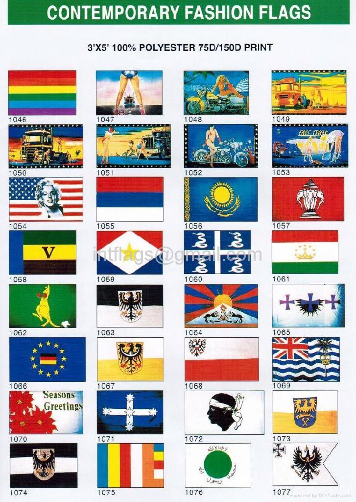 Contemporary fashion flag 2