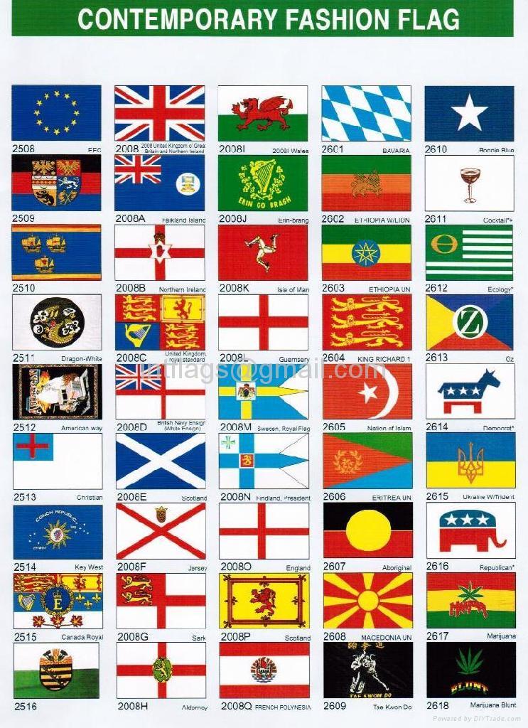 Contemporary fashion flag 4