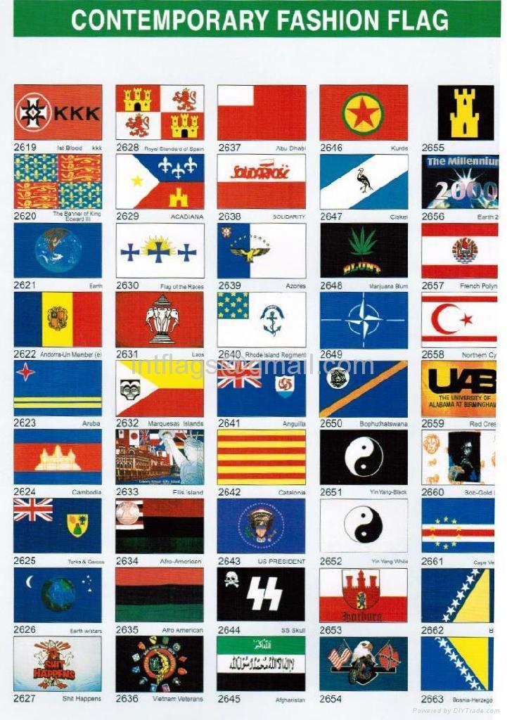 Contemporary fashion flag 5