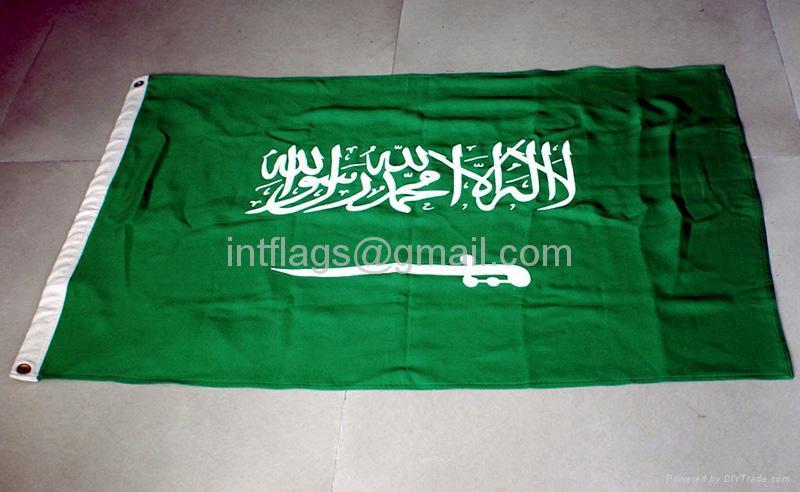 Appliqued flags 1