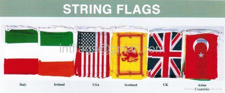 String flags bunting 2