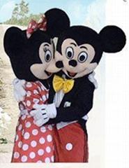 毛绒玩具 卡通服卡通人偶|卡通服装|卡通人偶服装---米老鼠