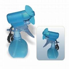 Hand Held Mini Fan with Water Spray