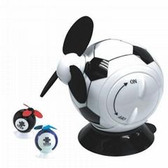 football mini desk fan