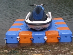 Jet ski floating dock